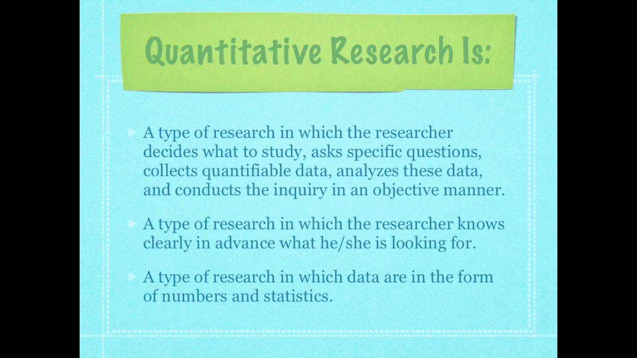 Pros and Cons of Quantitative Research - HRF