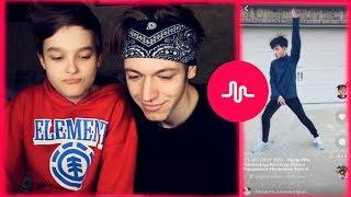 НАША РЕАКЦИЯ С БРАТОМ НА КЛИПЫ K-POP и BTS В MUSICALLY.LY