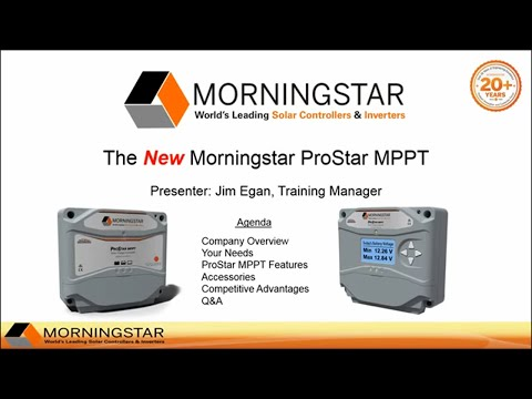 New ProStar MPPT Solar Charge Controller