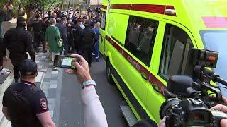 Фото Обвиняемый в ДТП со смертельным исходом Актер Михаил Ефремов из суда доставлен в больницу.