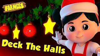 Deck The Halls   Christmas Song for Babies   X'mas Videos for Children