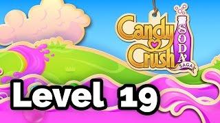 Candy Crush Soda Saga Level 19 - Score 48180