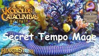 Hearthstone: Secret Tempo Mage #6: Kobolds & Catacumbas (Kobolds and Catacombs) 2017