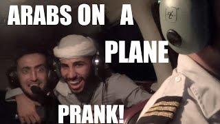 ARABS ON A PLANE PRANK!!