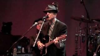 Sligo, A Singer Must Die, Leonard Cohen, Lissadell House , July 31st  2010