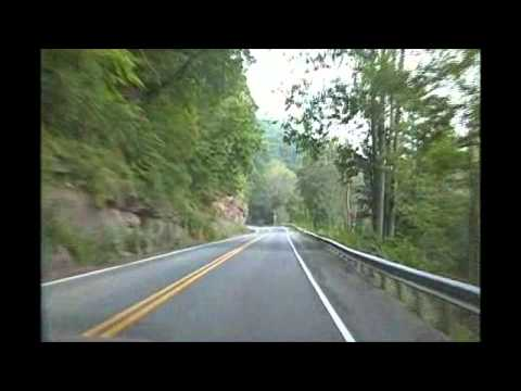 Driving to and around Hinton, WV