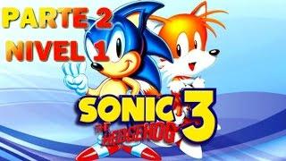 Sonic 3 / Destruyendo al Gordo Loco / Sega Genesis / Nivel 1 Jefe Final