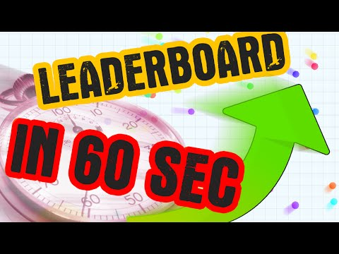 LEADERBOARD IN 60 SEC!!! // Awesome TYT Agario Gameplay