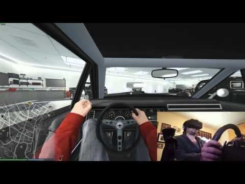 GTA 5 in the Oculus RIFT!!!!