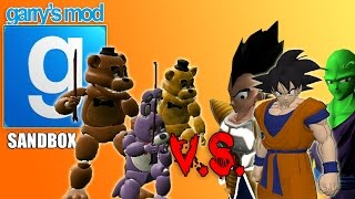 NIGHTMARE ANIMATRONICS vs HUGE ARMY OF MINECRAFT ZOMBIES! (Gmod FNAF Sandbox Funny Moments)
