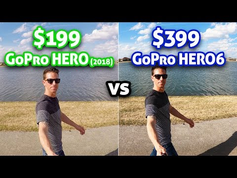 $199 GoPro HERO vs  $399 HERO 6!!
