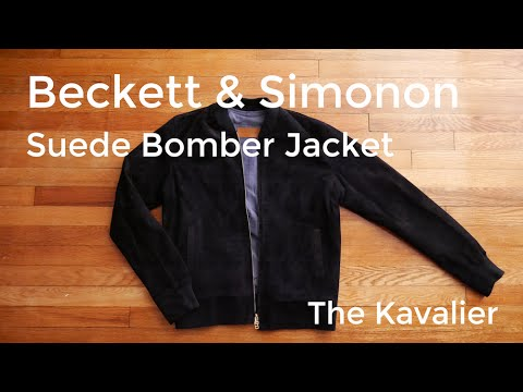 Beckett And Simonon Suede Bomber Jacket: Unboxing And Review