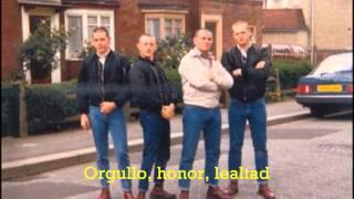 Glory Boys - Skinhead Resistance (Subtítulos Español)