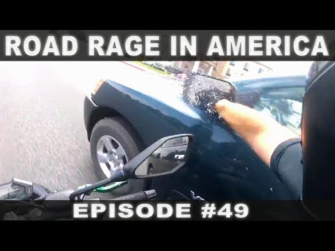 ROAD RAGE IN AMERICA #49 / BAD DRIVERS USA, CANADA / NORTH AMERICAN DRIVING FAILS