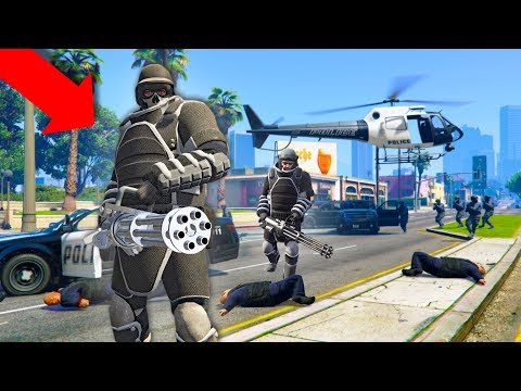 THESE GUYS TRIED TO TAKE OVER THE CITY!   GTA 5 THUG LIFE #220