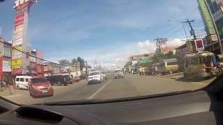 Driving in Valencia city (The Philippines)
