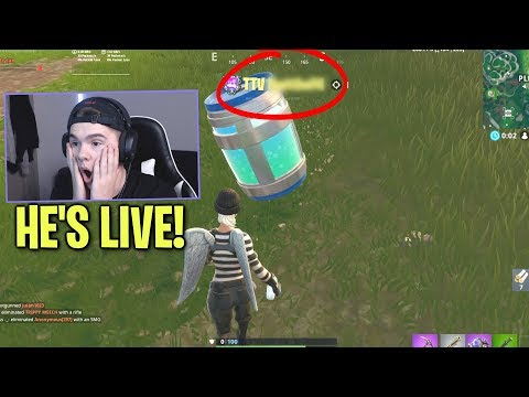 I jumped off the map and SPECTATED a TTV who was LIVE... (so good)