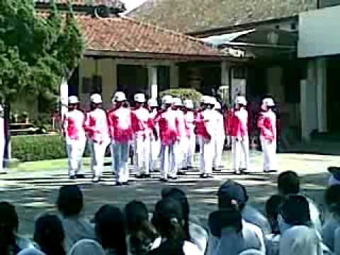 PBB musik PASKIBRA SMK NEGERI 1 BANDUNG 2010