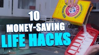10 Money-Saving LIFE HACKS To Try At Home by : HouseholdHacker