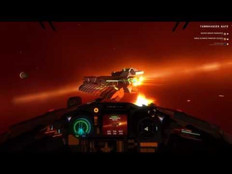 House Of The Dying Sun - Flying The Enemy Starfighter
