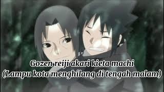 Akihisa Kondo - Black Night Town (song ending.27)    {lirik dan terjemahan bahasa Indonesia)