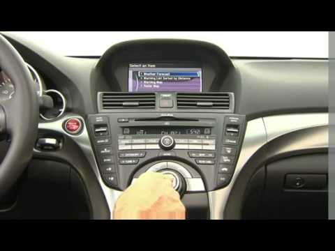 Acura Tl 2009 Interior Youtube
