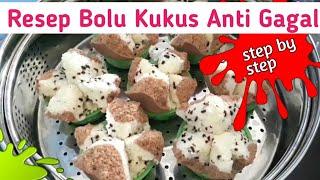 Resep Bolu Kukus Mekar Anti Gagal - Cara Membuat Bolu Kukus Soda Lembut