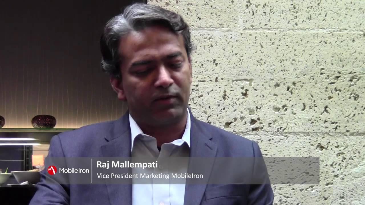 Interview with Raj Mallempati, MobileIron, and Reto Heutschi, go4mobile
