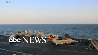 US deploys aircraft carrier to Middle East