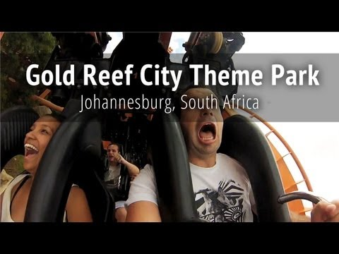 Gold Reef City Theme Park - Johannesburg, South Africa