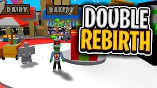 DOUBLE REBIRTH (Roblox Billionaire Simulator)