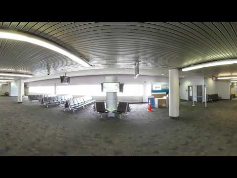 Piedmont Triad International Airport (GSO) on a Saturday 360
