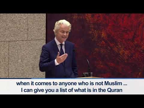 Speech Geert Wilders Racism Debate