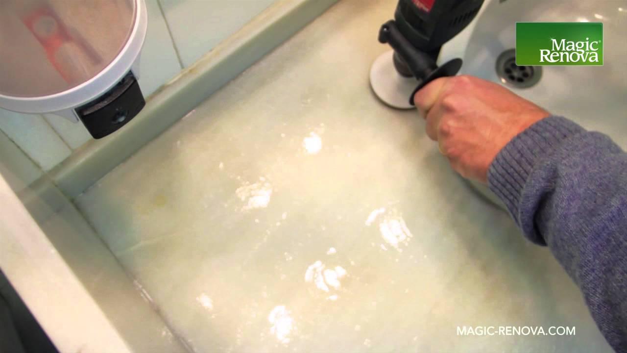 Como pulir y abrillantar una encimera de Mrmol con kit