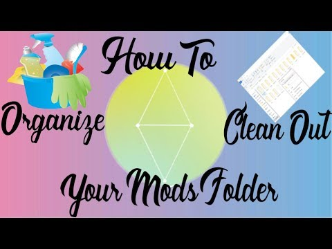 How To Organize & Clean Out Your Mods Folder | The Sims 4