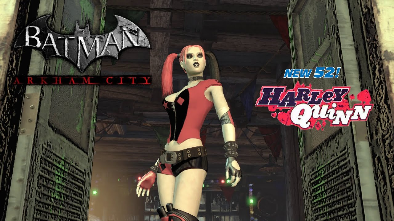 SKIN; Batman; Arkham City; New 52 Roller Harley - YouTube