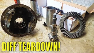 HILUX SURF REAR DIFF TEARDOWN - GET READY FOR A LOCKER