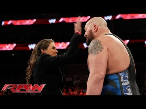 Stephanie McMahon fires Big Show: Raw, Oct. 7, 2013 thumbnail