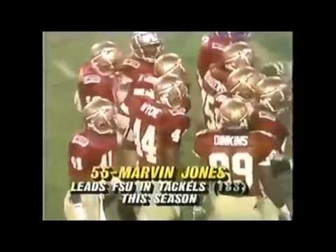 Marvin Jones Florida State Linebacker