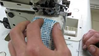 Перчаточный оверлок CISMA CM-737FS(Высокоскоростной перчаточный оверлок предназначен для обмётки края манжеты перчатки полиэфирной нитью..., 2013-07-23T08:10:24.000Z)