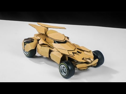 How To Make Batman BATMOBILE | Amazing DIY Cardboard Toy