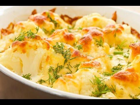 Cauliflower with Béchamel sauce