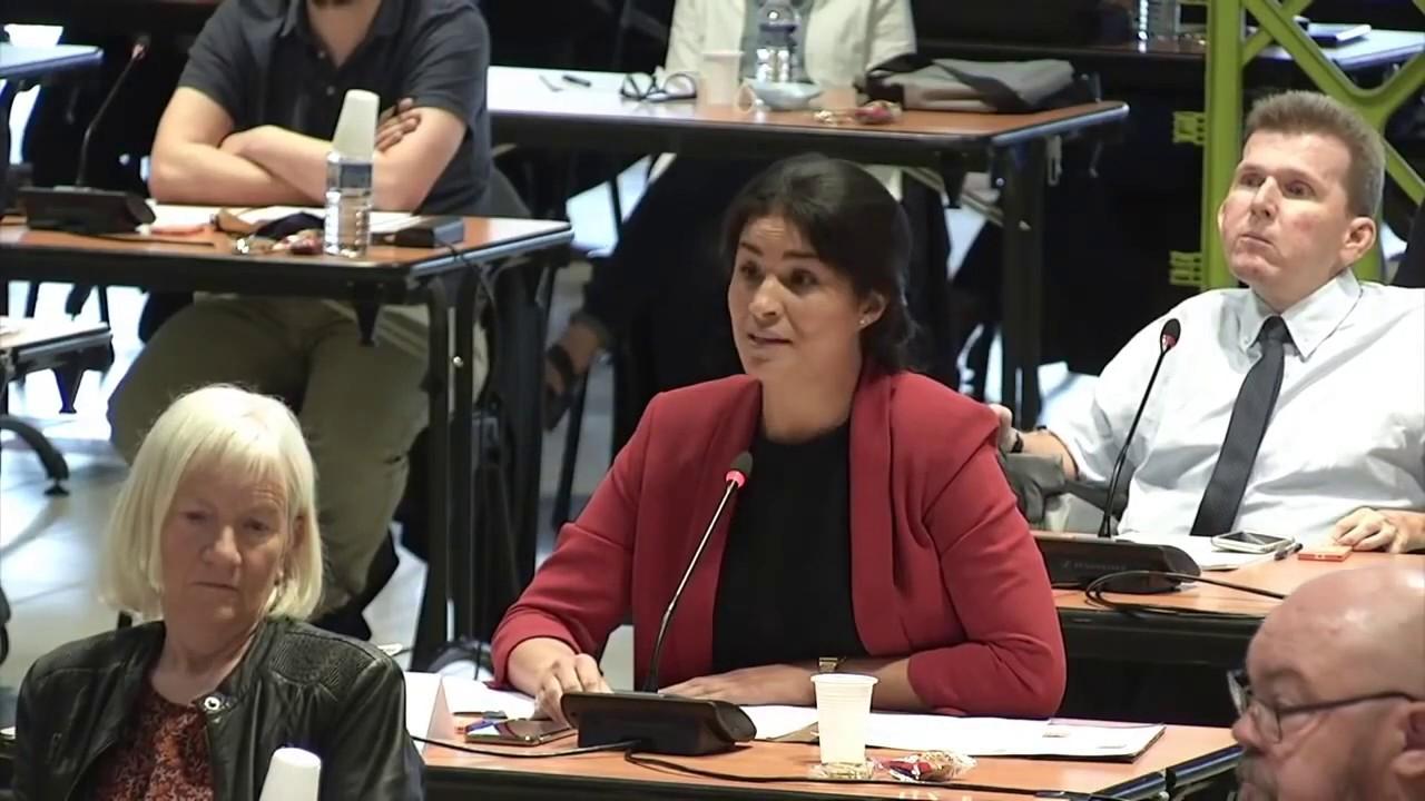Prise de parole de Sonia Krimi au conseil municipal du 5 juillet 2020
