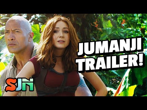 Jumanji 2 Looks Nothing Like Jumanji!