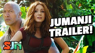 Jumanji 2 Looks Nothing Like Jumanji!