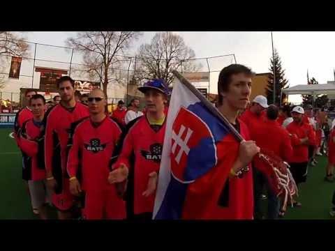 BRATISLAVA BATS lacrosse club at Ales Hrebesky Memorial 2013 (aftermovie HD)