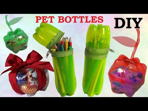 10 DIY Creative Ways to Reuse / Recycle Plastic Bottles part 1