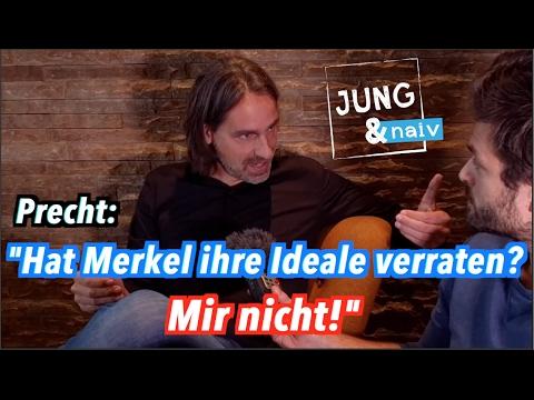 Richard David Precht über Angela Merkel & die Droge Macht