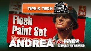 ANDREA FLESH PAINT SET (ACS-01) REVIEW