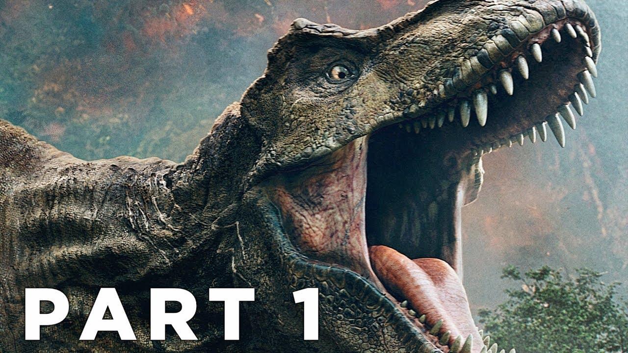JURASSIC WORLD EVOLUTION Walkthrough Gameplay Part 1 - INTRO (PS4 Pro)
